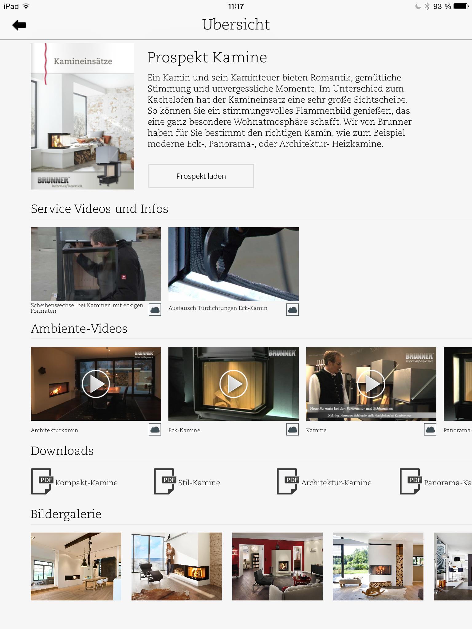 brunner ipad app bibliothek haustechnikdialog. Black Bedroom Furniture Sets. Home Design Ideas