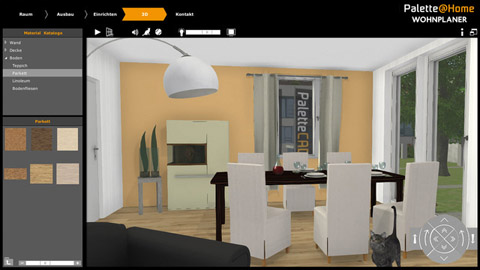 palette home iphone app bibliothek haustechnikdialog. Black Bedroom Furniture Sets. Home Design Ideas
