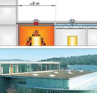 Brandschutz flachdach