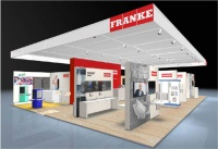 franke auf der ish 2011 halle 4 1 stand g46 din dvgw. Black Bedroom Furniture Sets. Home Design Ideas
