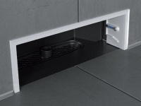 innovativer wandablauf f r bodenebene duschen. Black Bedroom Furniture Sets. Home Design Ideas