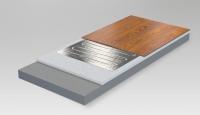 elektrische fu bodenheizung mit minimaler aufbauh he haustechnikdialog. Black Bedroom Furniture Sets. Home Design Ideas