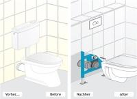der probleml ser f r die wc modernisierung haustechnikdialog. Black Bedroom Furniture Sets. Home Design Ideas