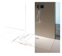 neue gro formate f r die bodengleiche dusche haustechnikdialog. Black Bedroom Furniture Sets. Home Design Ideas