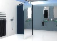 neu verspiegelung mirastar f r glasduschkabinen haustechnikdialog. Black Bedroom Furniture Sets. Home Design Ideas