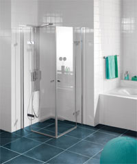 glasduschen bodenebener einbau erh hter komfort haustechnikdialog. Black Bedroom Furniture Sets. Home Design Ideas