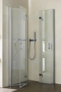 neue duschkabine komfortabel und platzsparend haustechnikdialog. Black Bedroom Furniture Sets. Home Design Ideas