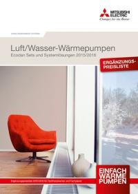 mitsubishi electric erweitert w rmepumpen programm haustechnikdialog. Black Bedroom Furniture Sets. Home Design Ideas