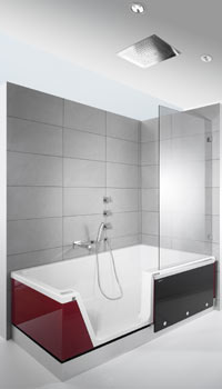 easy in die dusche zum baden haustechnikdialog. Black Bedroom Furniture Sets. Home Design Ideas
