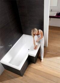 badewanne stairway – sitzfläche im badezimmer - haustechnikdialog, Badezimmer