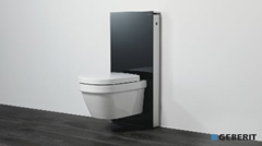 montagefilm geberit monolith f r stand wc shkvideo haustechnikdialog. Black Bedroom Furniture Sets. Home Design Ideas