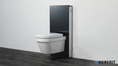 Geberit Hangend Toilet : Montagefilm geberit monolith für wand wc shkvideo