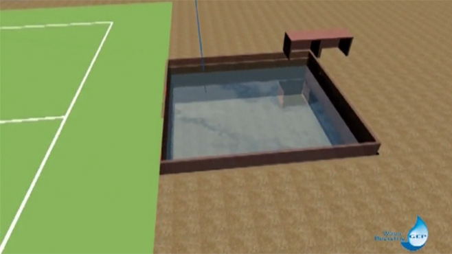 GEP Grauwasser - Technik am Beispiel eines Fußballstadions