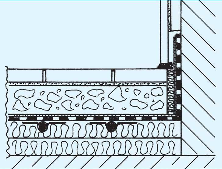 abb abdichtung gegen feuchtigkeit von oben beim trockensystem bild shkwissen. Black Bedroom Furniture Sets. Home Design Ideas