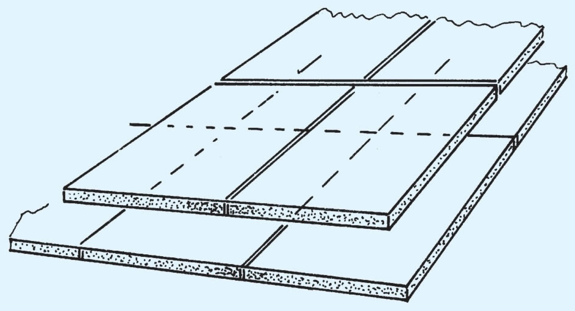 beheizter fu boden verlegung von d mmschichten. Black Bedroom Furniture Sets. Home Design Ideas