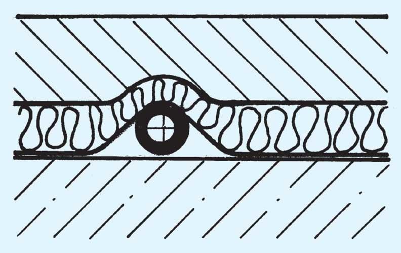 beheizter fu boden rohrleitungen auf decken shkwissen haustechnikdialog. Black Bedroom Furniture Sets. Home Design Ideas