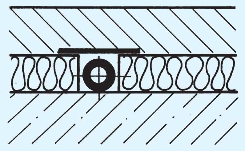 beheizter fu boden rohrleitungen auf decken shkwissen. Black Bedroom Furniture Sets. Home Design Ideas
