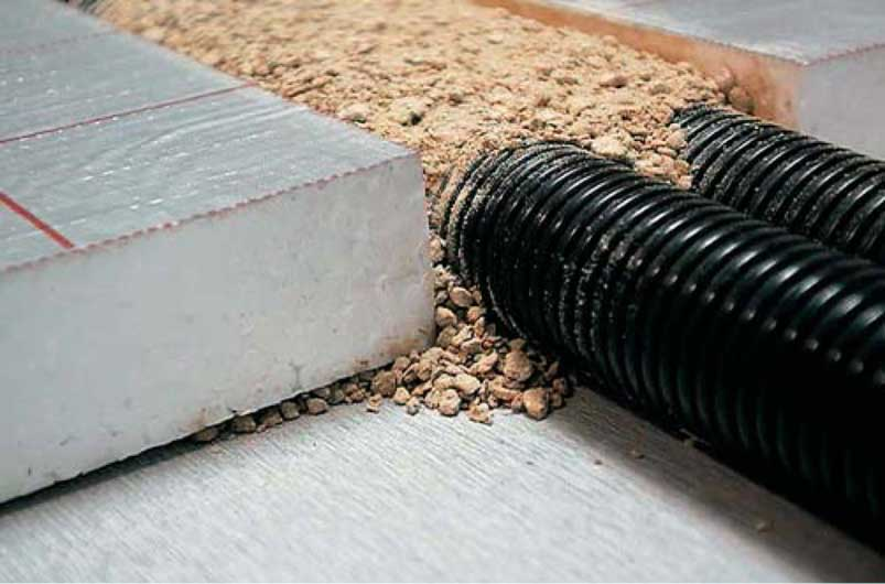 Fußboden Mit Dämmung ~ Beheizter fußboden rohrleitungen auf decken shkwissen