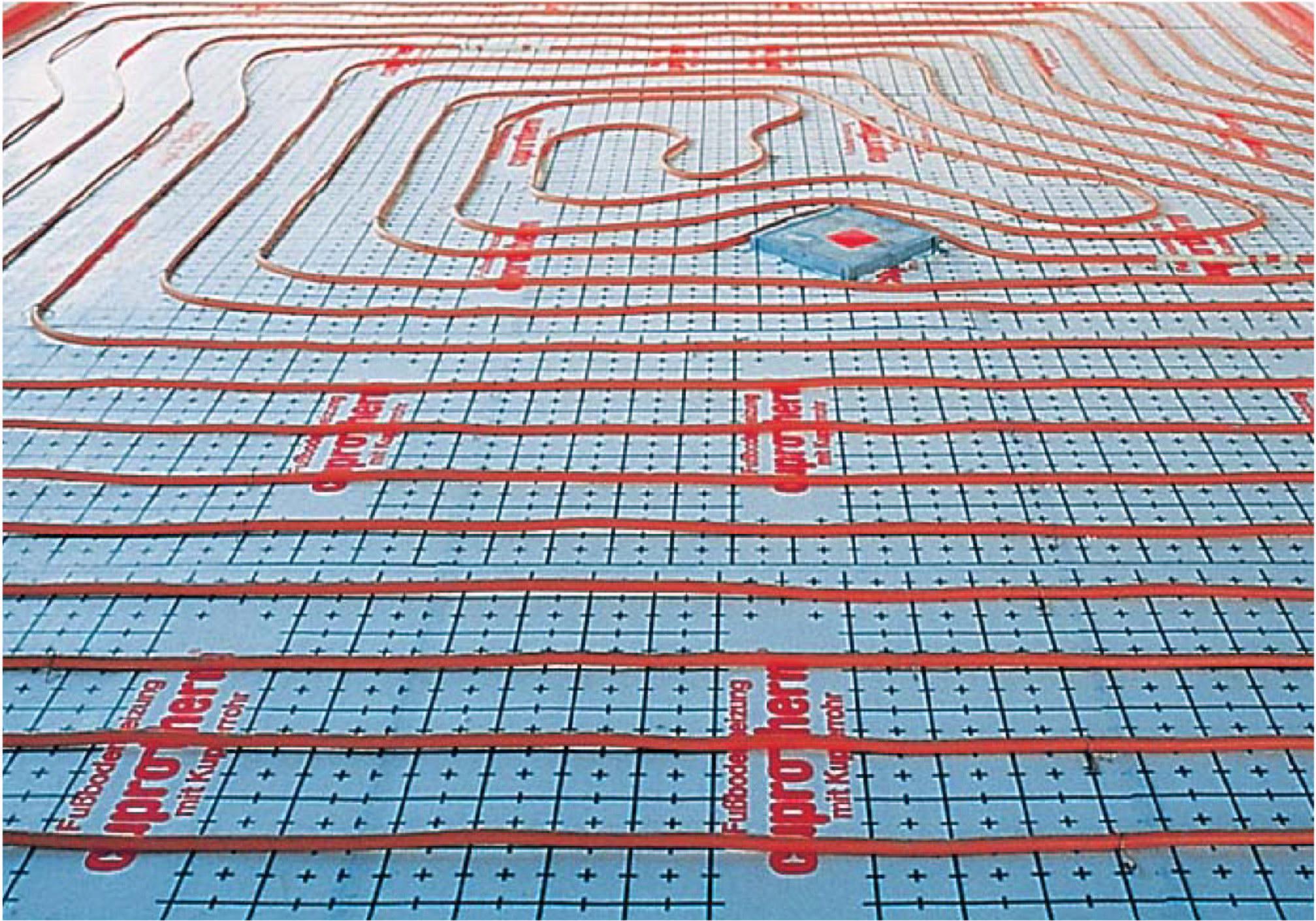 Verlegen Fußbodenheizung spiralförmige verlegung fußbodenheizung shkwissen