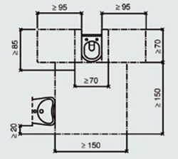 barrierefreie toilettenanlagen - Dusche Barrierefrei Planung