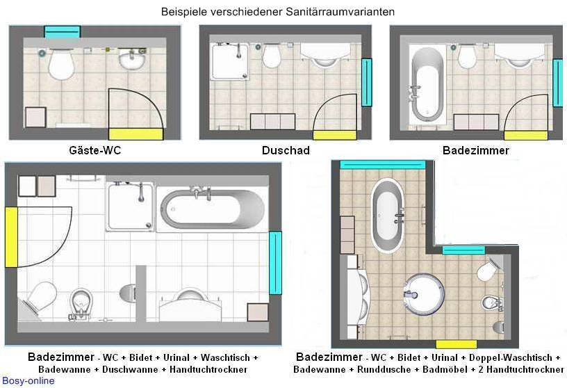 Best Badezimmer Grundriss Planen Contemporary - House Design Ideas ...