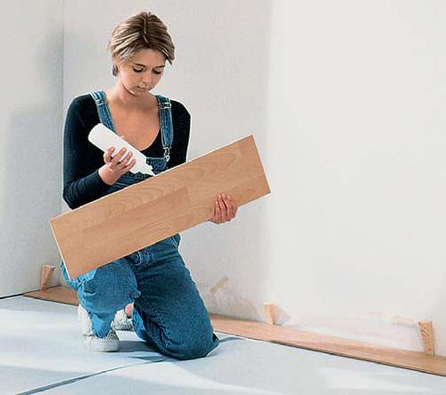 oberb den bodenbel ge parkettb den shkwissen haustechnikdialog. Black Bedroom Furniture Sets. Home Design Ideas