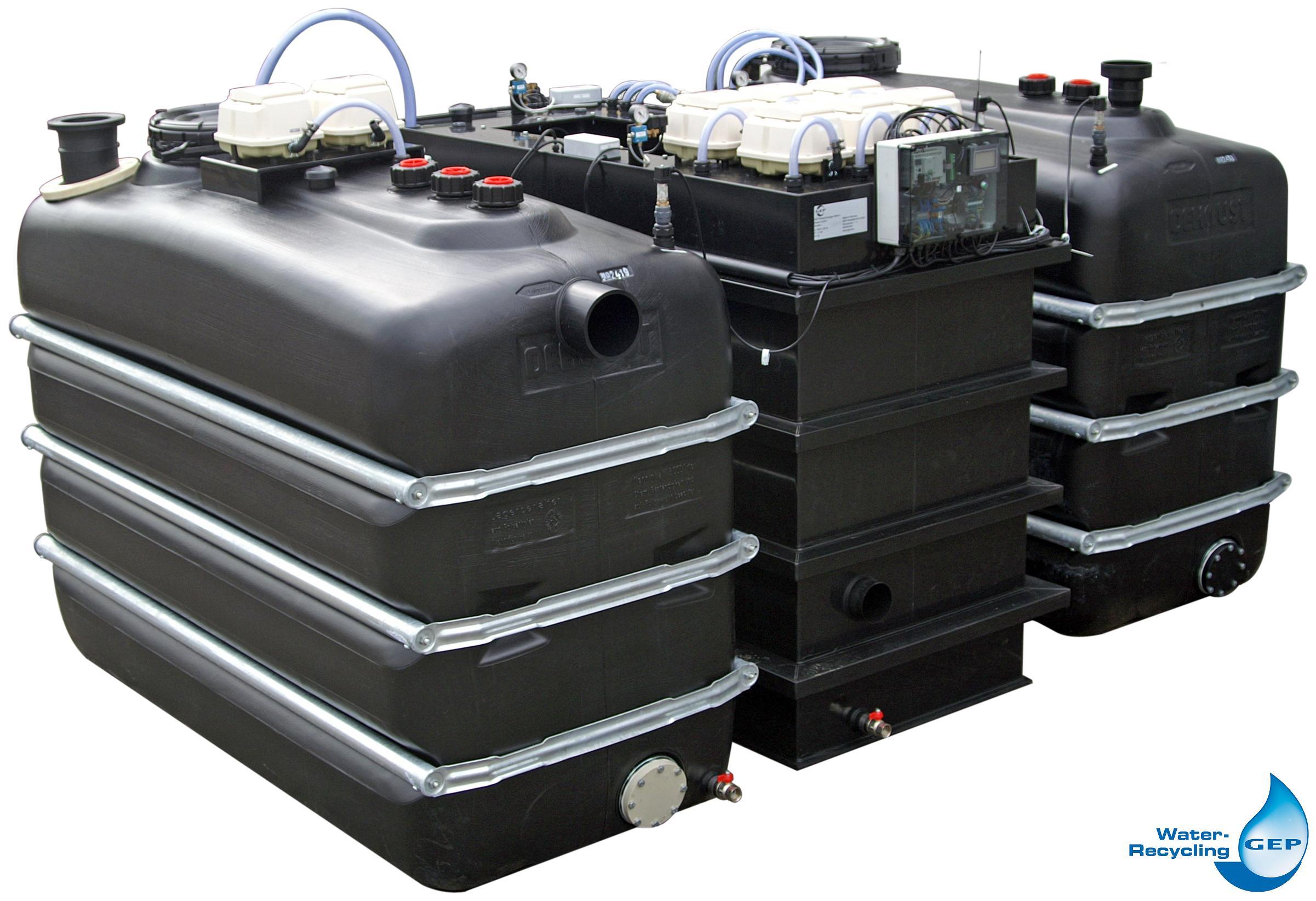 grauwasseranlage auf basis eines membranbioreaktors shkwissen haustechnikdialog. Black Bedroom Furniture Sets. Home Design Ideas